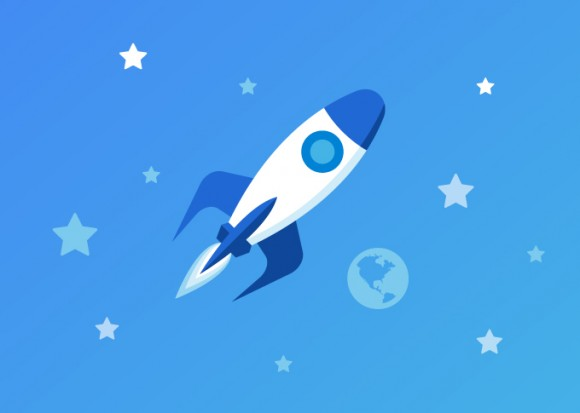 Raketová rychlost načítání pomůže webu stoupat vzhůru ve vyhledávačích.