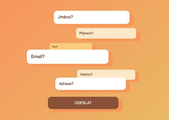 Zjednodušení formulářů, aneb Jak na webu nezpůsobit zbytečný chaos