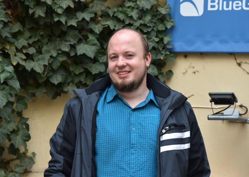 CTO BlueGhostu Michal Zíma