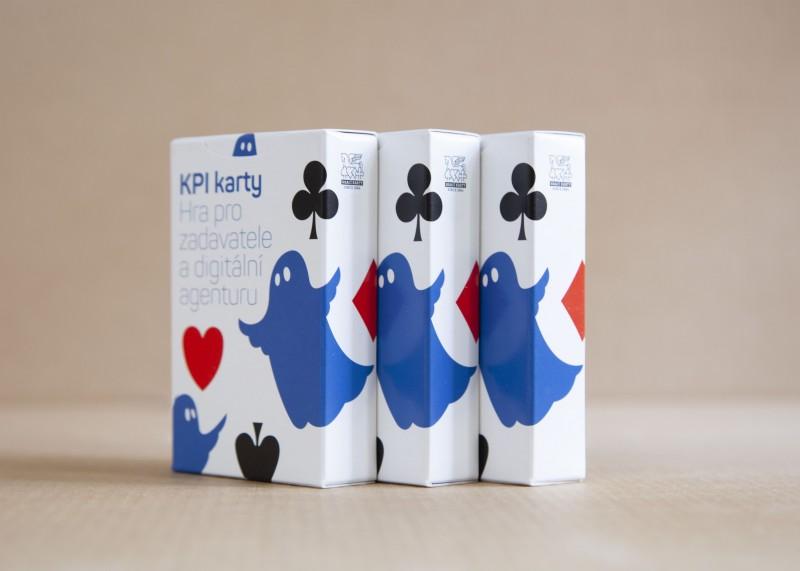 Modrý duch představuje KPI karty, nepostradatelnou hru pro zadavatele a digitální agenturu