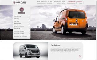 Rozcestní Fiat Professional