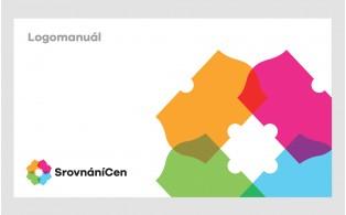ukázka logomanuálu pro Srovnání Cen